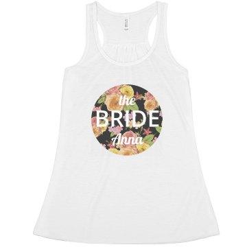 Floral Circle Bride