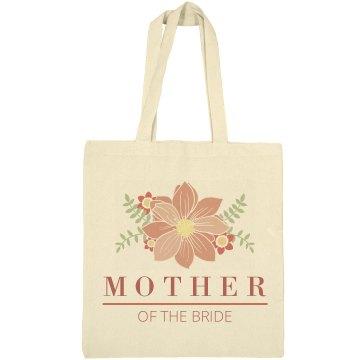 Floral Mother Of The Bride Design
