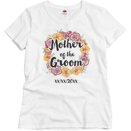 Floral Mother Of The Groom