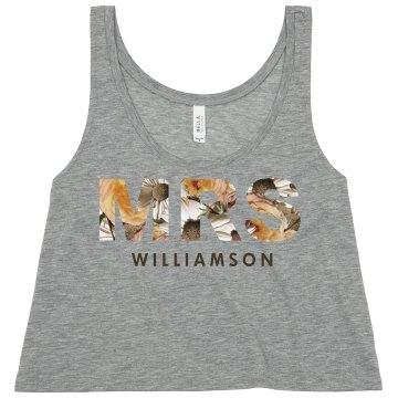 Floral Mrs Williamson