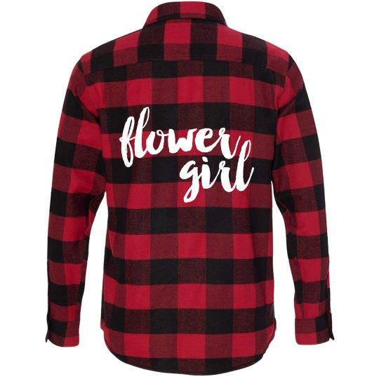 Flower Girl Flannel Shirt