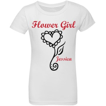 Flower Girl Raglan