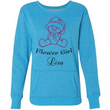 Flower Girl Sweatshirt