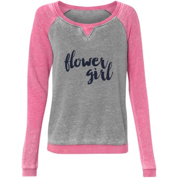 Flower Girl Sweatshirts