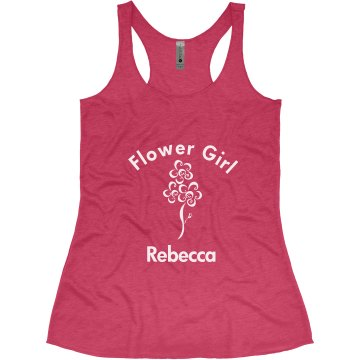 Flower Girl Tank Top