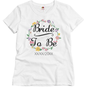 Flower Ring Bride To Be