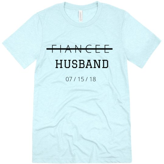 From Fiancee to Husband with Custom Wedding Date