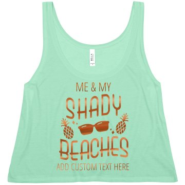 Funny Bride And Her Shady Beaches