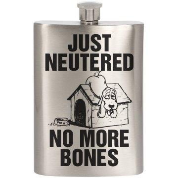 Funny Just Neutered Groom