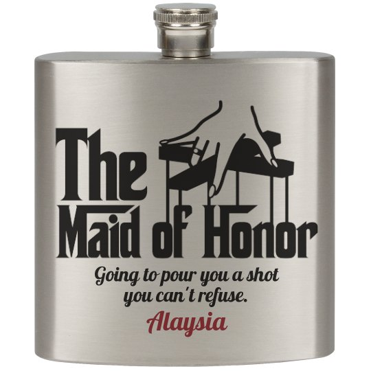 Funny Maid of Honor Gift