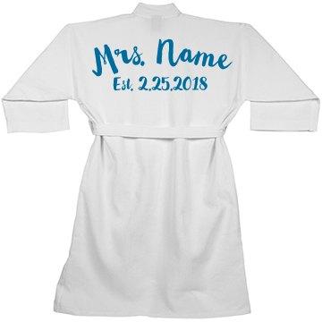 Future Bride Custom Spa Robe