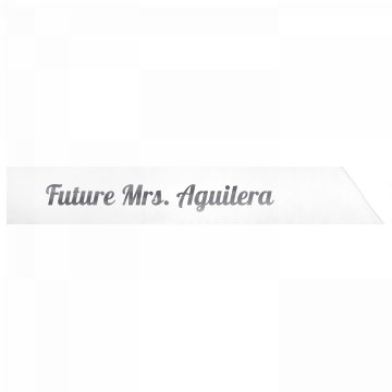 Future Mrs. Aguilera
