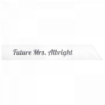 Future Mrs. Albright
