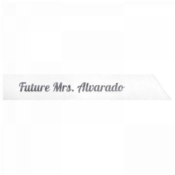 Future Mrs. Alvarado