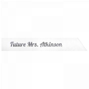 Future Mrs. Atkinson