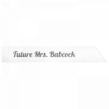 Future Mrs. Babcock