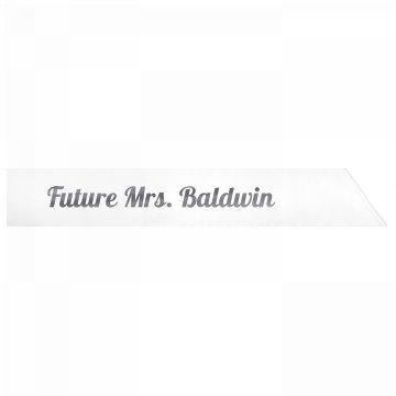 Future Mrs. Baldwin