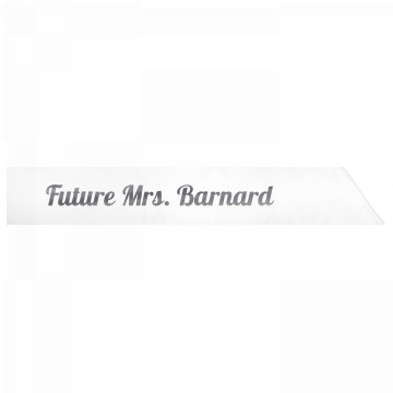 Future Mrs. Barnard