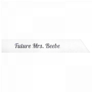 Future Mrs. Beebe