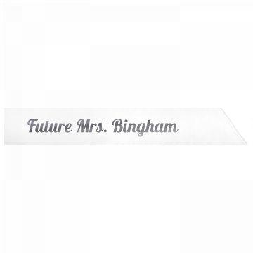 Future Mrs. Bingham