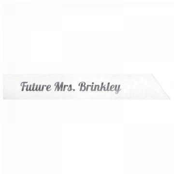 Future Mrs. Brinkley