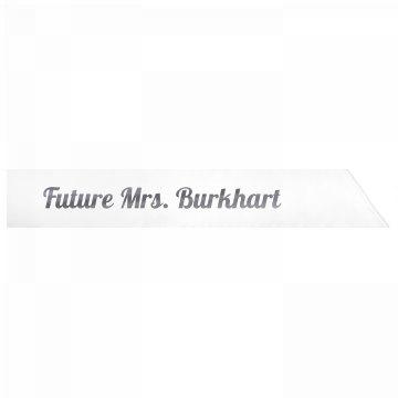 Future Mrs. Burkhart