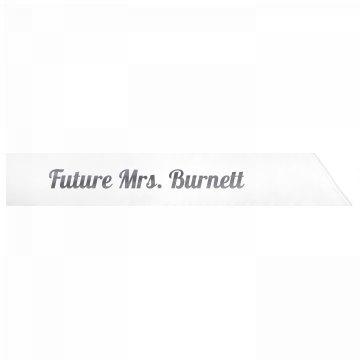 Future Mrs. Burnett
