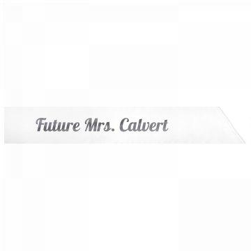 Future Mrs. Calvert
