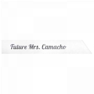 Future Mrs. Camacho