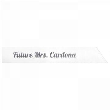 Future Mrs. Cardona