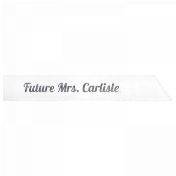 Future Mrs. Carlisle