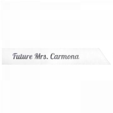 Future Mrs. Carmona
