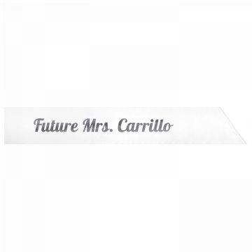 Future Mrs. Carrillo