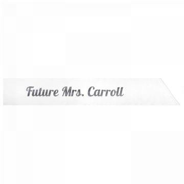Future Mrs. Carroll