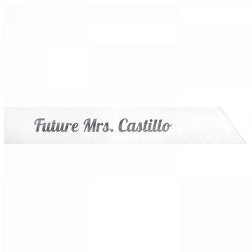 Future Mrs. Castillo