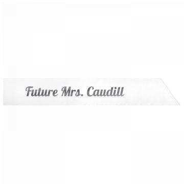 Future Mrs. Caudill