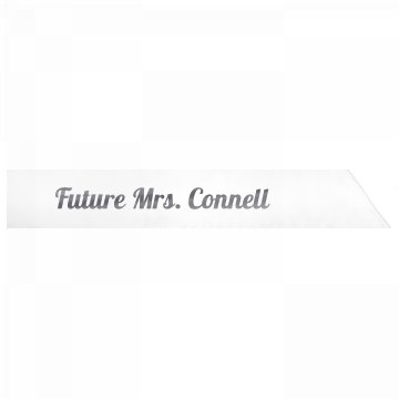 Future Mrs. Connell