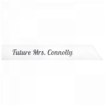 Future Mrs. Connolly