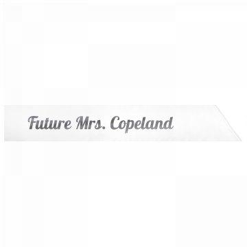 Future Mrs. Copeland