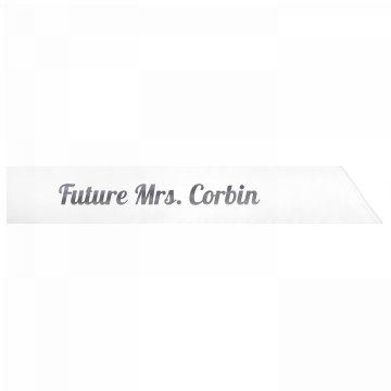 Future Mrs. Corbin