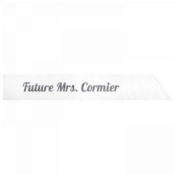 Future Mrs. Cormier