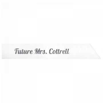 Future Mrs. Cottrell