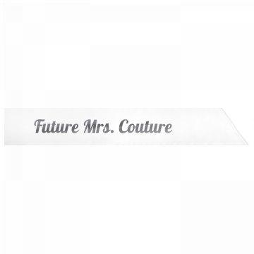Future Mrs. Couture