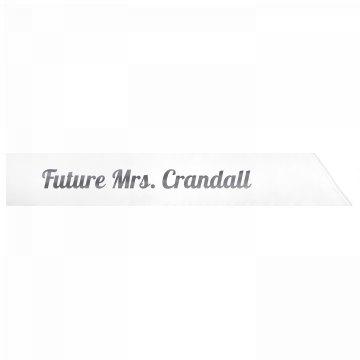 Future Mrs. Crandall