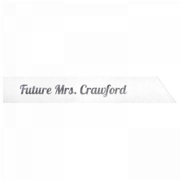 Future Mrs. Crawford