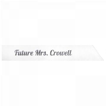 Future Mrs. Crowell