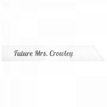 Future Mrs. Crowley