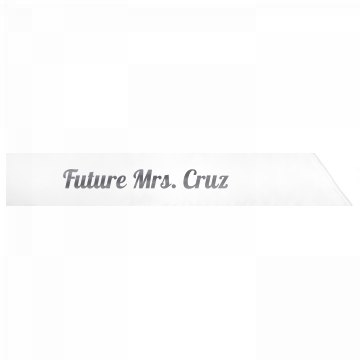 Future Mrs. Cruz
