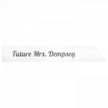Future Mrs. Dempsey