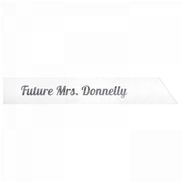 Future Mrs. Donnelly